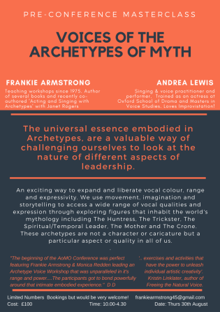 Voices of the Archetypes of Myth